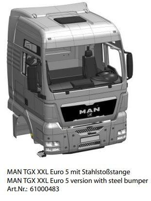 Fahrerhaus MAN TGX-XXL Euro 5 Bausatz