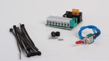 Power distribution board with extra charging socket for TGS