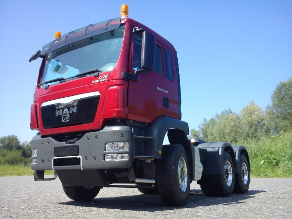 MAN TGS Euro 5 3-Achs-Sattelzugmaschine lang ohne Allradantrieb
