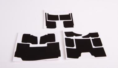 Teppichsatz Mercedes Arocs schwarz