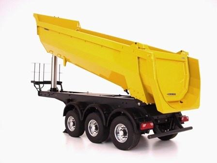 Meiller Halfpipe 3-axle semi-trailer