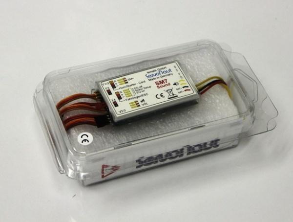 Sound module Servonaut SM7