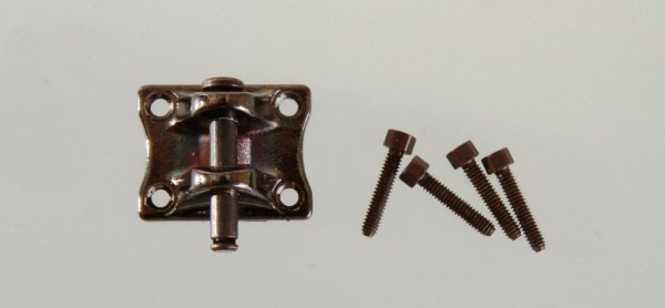 Hitch including bolts and screws