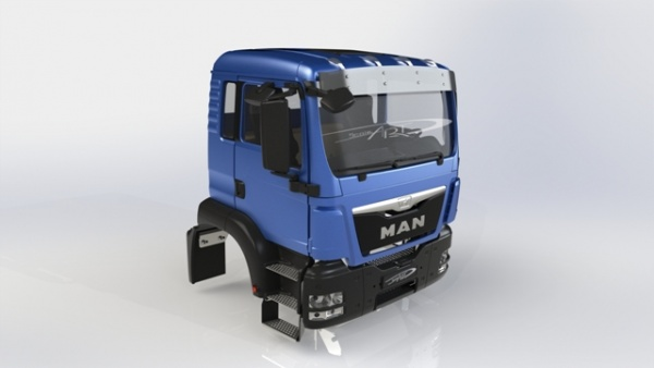 Cab MAN TGS Euro 5 facelift kit