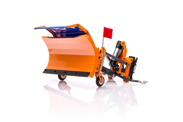 Hydraulic snow plow