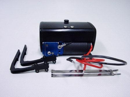 Hydraulikpumpe 240 ml im Fahrzeugtank (kurz), schwarz