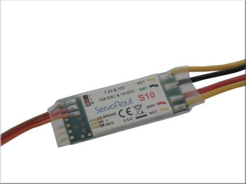 Servonaut speed controller S10