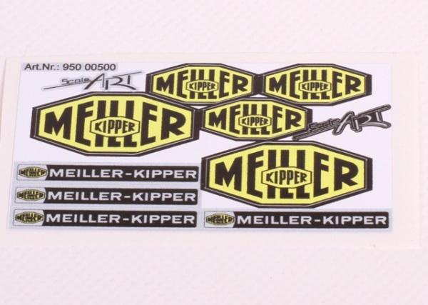 Aufkleberset Meiller-Kipper
