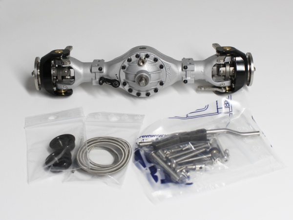 Front axle differential without second output 3:1
