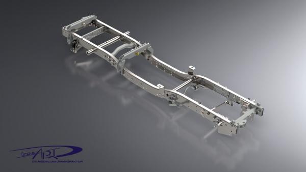 Rahmen Unimog 3250 mit Achsaufhängung