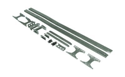 Frame heavy-duty tractor long 3- and 4-axle / 4-axle halfpipe