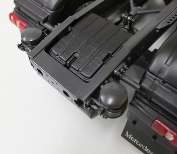 Batteriekasten Mercedes seitlich