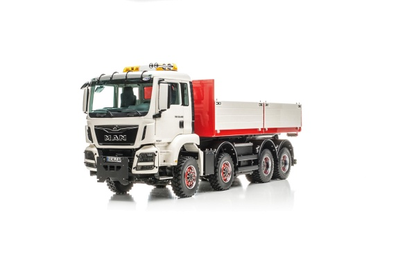 MAN TGS 4-axle roll-off tipper Euro 6 Palfinger without all-wheel drive
