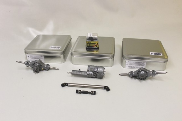 Drive package 8x4 without all-wheel drive for 4-axle heavy-duty tractor org. length