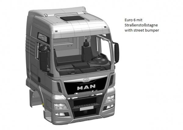 Cab MAN TGX-XXL Euro 6 kit
