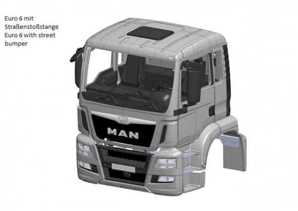 Cab MAN TGS Euro 6 kit