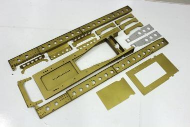 Rahmen 3-Achs-Kofferauflieger