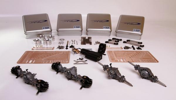Antriebspaket Allrad (8x8) für 4-Achs-Halfpipe-Kipper