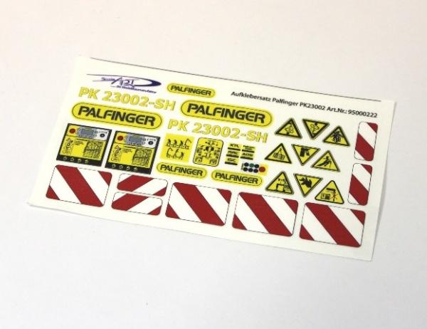 Set of stickers Palfinger PK 23002