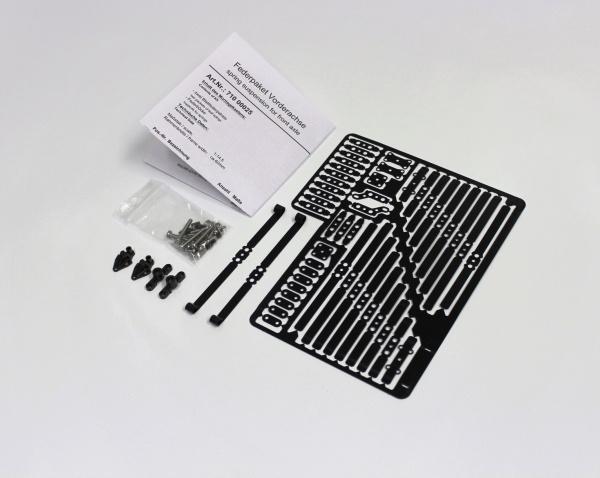 Federpaket Vorderachse nur für ScaleART Fahrgestelle