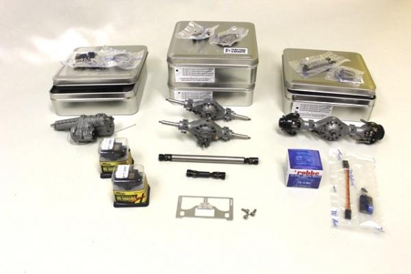 Antriebspaket Allrad (6x6) für 3-Achs-Sattelzugmaschine kurz