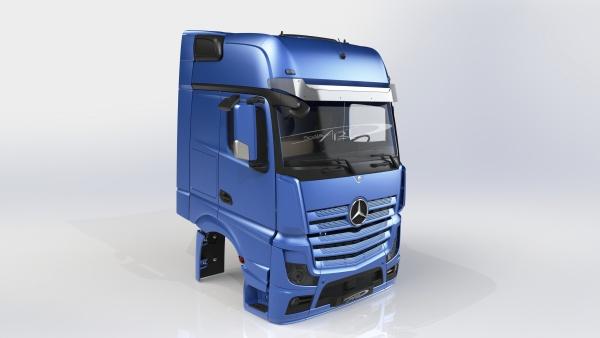 Fahrerhaus Mercedes Benz Actros II Gigaspace Bausatz