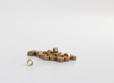 Model nut M3 brass