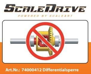 Differentialsperre für ScaleDRIVE Achsen