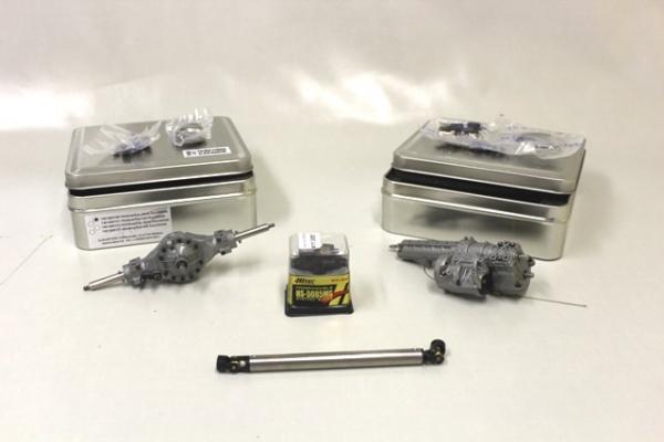 Antriebspaket ohne Allrad (4x2) für 2-Achs-Sattelzugmaschinen