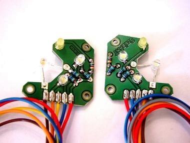 Beleuchtungsplatinensatz Frontscheinwerfer mit LED TGX
