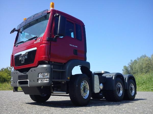 MAN TGS Euro 5 3-Achs-Sattelzugmaschine kurz mit Allradantrieb