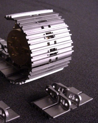Track link 55mm including bolts